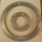lazy susan bearing. 120mm aluminium lazy susan bearing