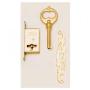 Brass Lockset