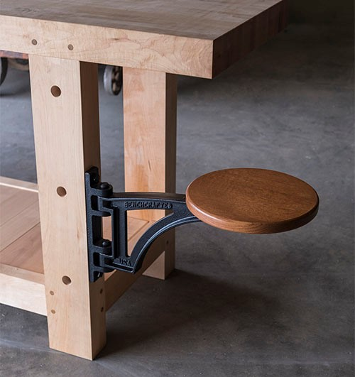 Cws Store Benchcrafted Workbench Swing Away Seat