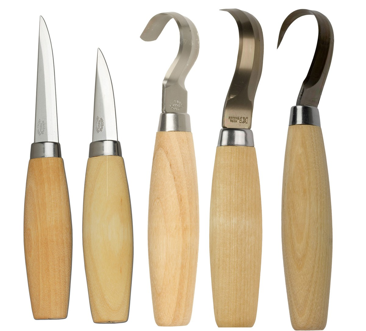 Cws store mora set of spoon carving knives