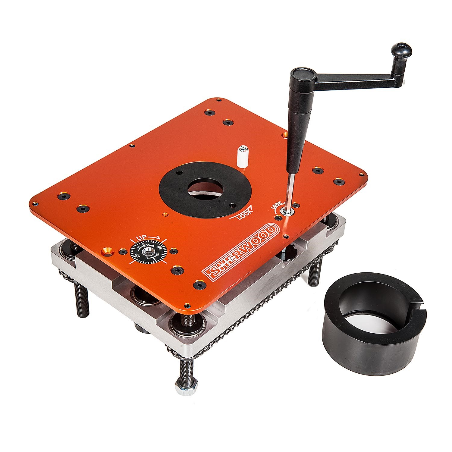 Cws Store Router Table Lift Mounting Plate Amp Round