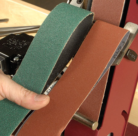 Hook And Loop Sandpaper >> CWS Store - Robert Sorby Aluminium Oxide Replacement Belts