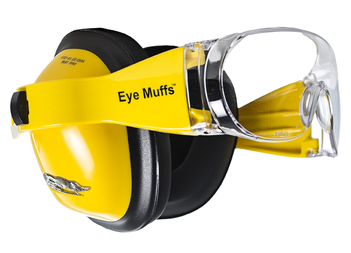 Cws Store Eyemuffs High Viz Yellow